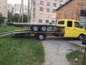 Оперативная перевозка авто на Лафете
